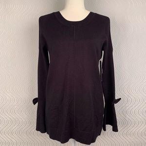 Karl Lagerfeld Paris Cold Shoulder Sweater Small